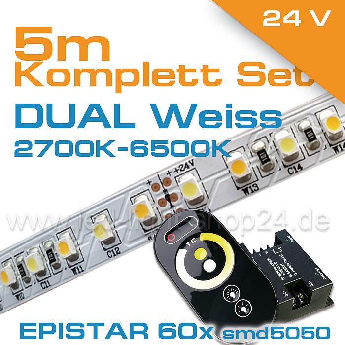 LED Komplettes DUALWEISS Set im Shop bestellen