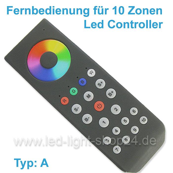 Fernbedienung für RGBW Led Controller