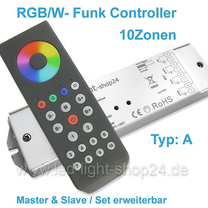 Led Controller RGBW mit Fernbedienung