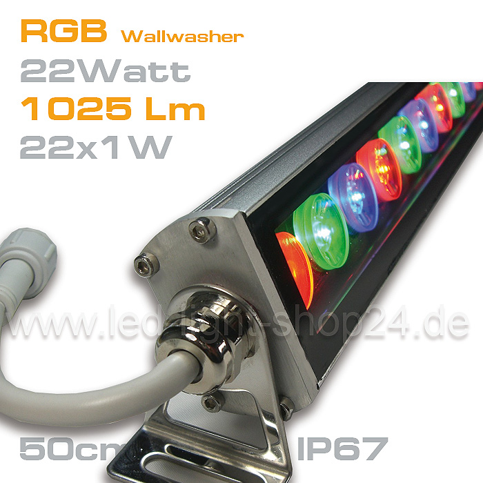 Wallwasher_RGB_Edison 22Watt