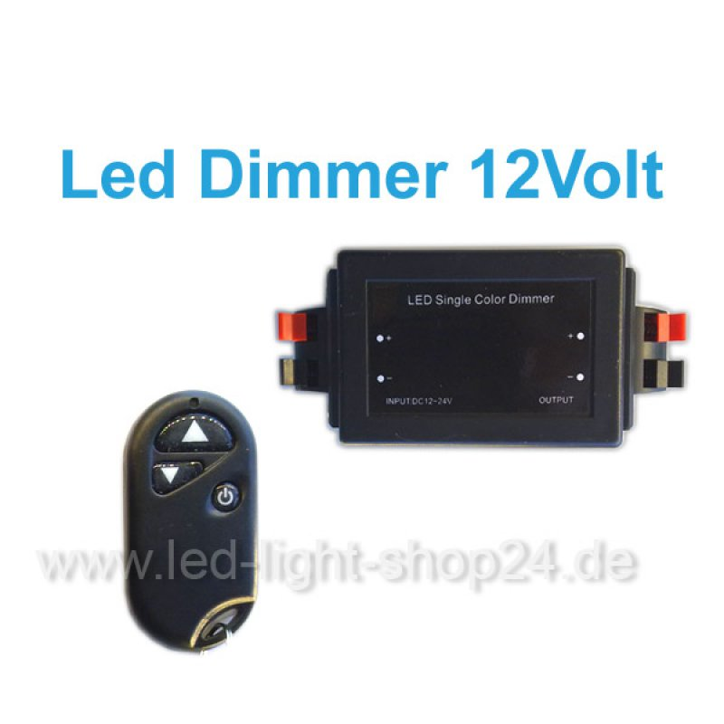 led controller dimmer f r weisse led streifen 31 90. Black Bedroom Furniture Sets. Home Design Ideas