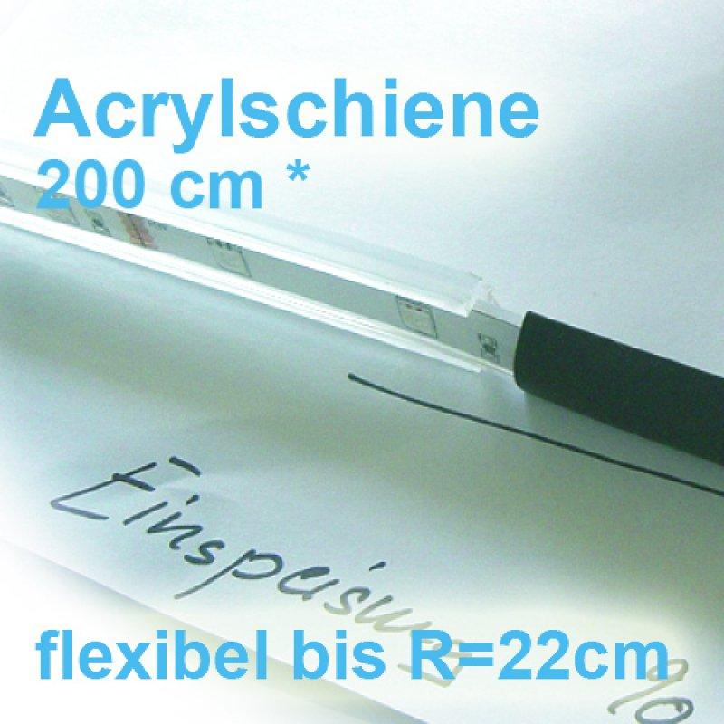 led profile 200cm acryl flexibel und biegbar f r ip67 led. Black Bedroom Furniture Sets. Home Design Ideas