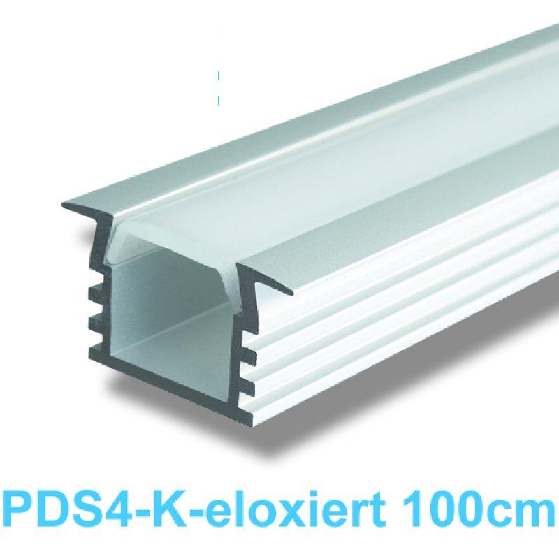 led profile led universal profile 1m eloxiert pds 4k 18 99. Black Bedroom Furniture Sets. Home Design Ideas