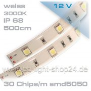 Led Band warmweiss IP67 30smd5050/m