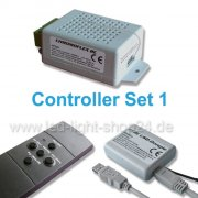 Led Controller Set1 Chromoflex mit Fernbedienung und USB-Dongle