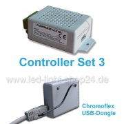 Led Controller Set3 Chromoflex mit USB-Dongle