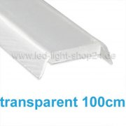Led Profile 1370/1 1m Abdeckung transparent