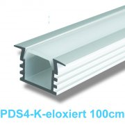 Led Profile / Led Universal-Profile 1m eloxiert PDS-4K