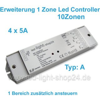 Erweiterungs Led Controller 4x4Ampere  RCW