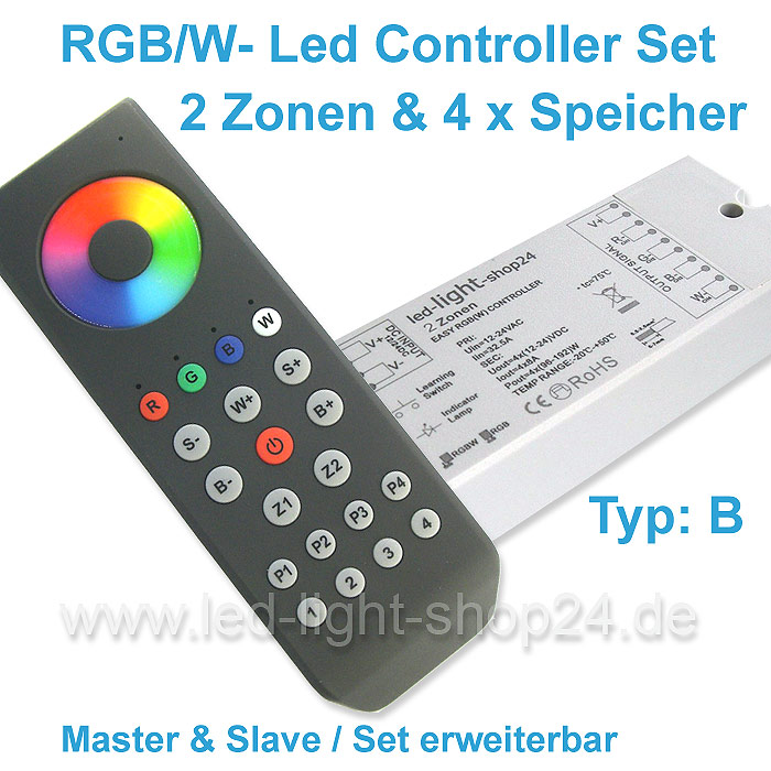 Led Steuerung fuer Led band und Led strips in RGBW