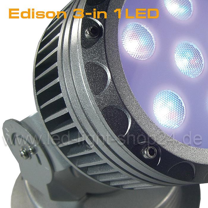 Lichteffekt mit RGB Strahler erzielen