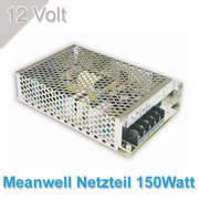 Meanwell Led Netzteil 150W/12Volt--IP20--