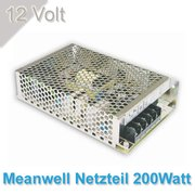 Meanwell Led Netzteil 200W/12Volt--IP20--