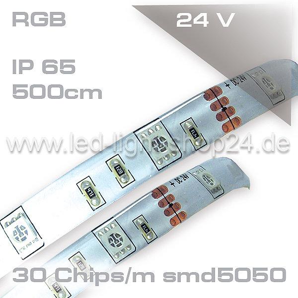 led strip auf rolle 24v rgb ip45 wassergesch tzt 150chips 69 99. Black Bedroom Furniture Sets. Home Design Ideas