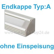 Led Profile Endkappe 1383 TYP:A ohne Einspeisung