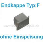 Led Profile Endkappe 1056 Typ: F ohne Einspeisung