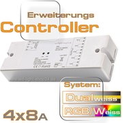 Erweiterungs Led Controller 4x8 Ampere  RCEA