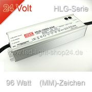 Led Trafo Meanwell HLG 100H-24 wasserfest