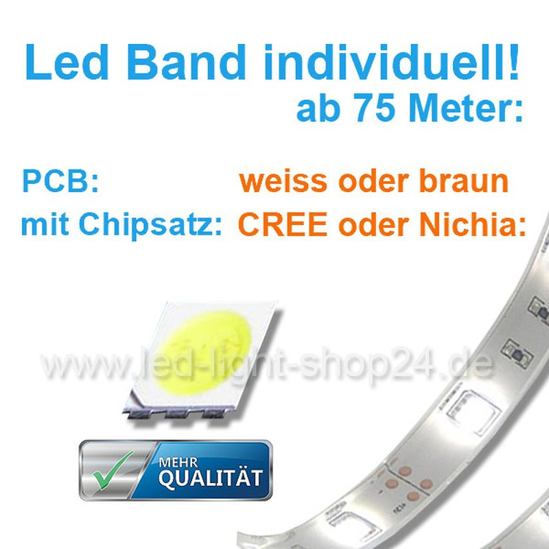 led band weiss individuell best ckt 60chips smd 5050 223. Black Bedroom Furniture Sets. Home Design Ideas