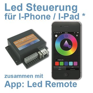 RGB Led Controller für Iphone und Android