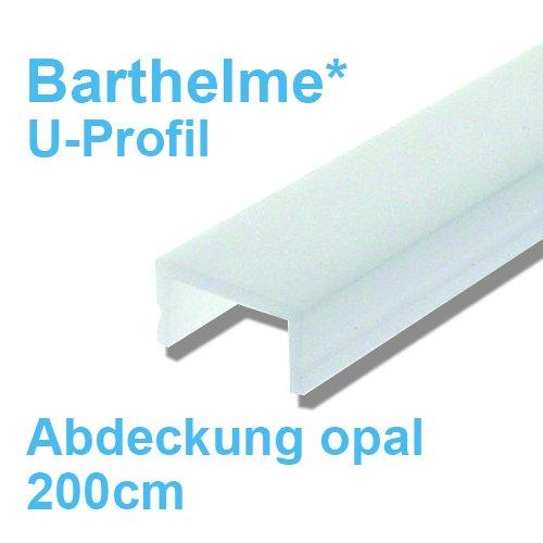 abdeckung f r led profil u profil barthelme 21 30. Black Bedroom Furniture Sets. Home Design Ideas