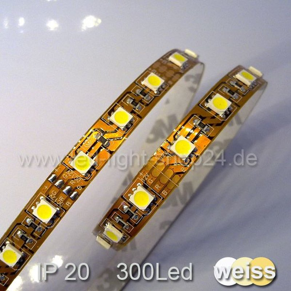 led streifen warmweiss 60chips m 1950lm 79 90. Black Bedroom Furniture Sets. Home Design Ideas