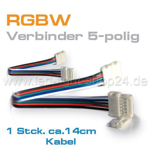 Rgbw Schnellverbinder F Ungeschutzte Led Streifen Rgbw 1 85