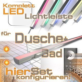 Led Leiste Fur Dusche Bad Fliesen Led Dusche Komplettset