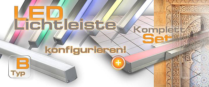 Super LED Leiste für Dusche Bad & Fliesen, LED Dusche Komplettset, 1,00 € WU42