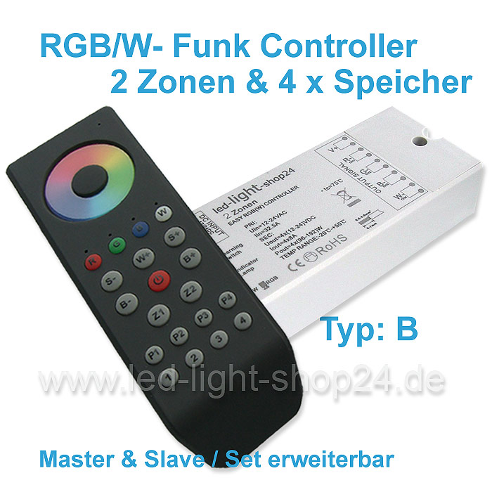 RGBW-Led_controller