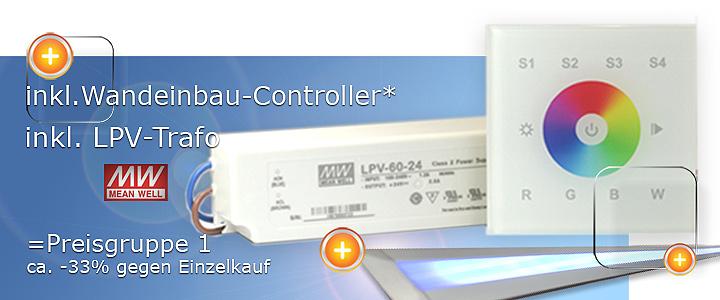 Wandsteuerung-für LED Einbauprofil
