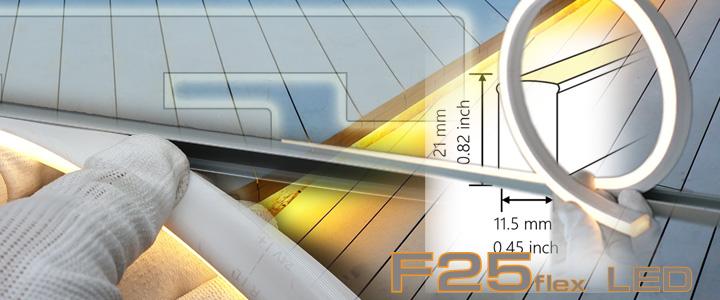 F25 Leuchtmittel für Terrasse flexibel