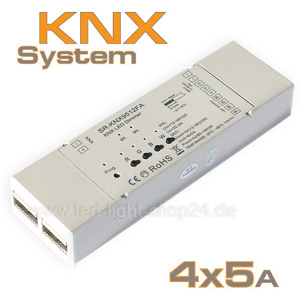 KNX_LED_Steuerung 4Kanal