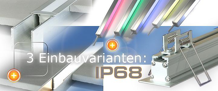 Trockenbau Profil LED