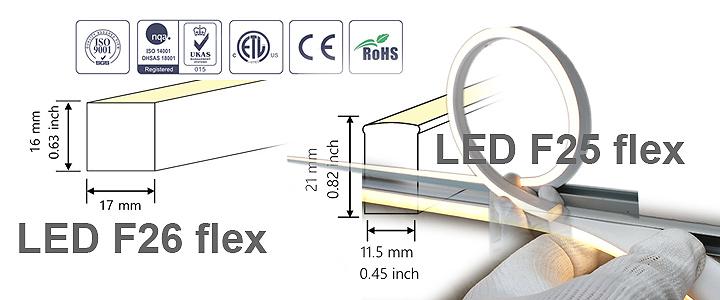 NEON FLEX RGB LED F25