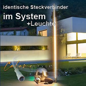 LED Lichtstele für Aussen in Top modernem Design für moderne Beleuchtung im Garten