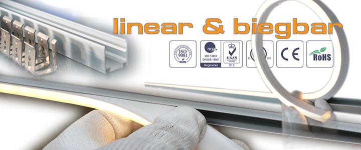 LED Lichtleiste aud der Terrasse und Bodenbeleuchtung